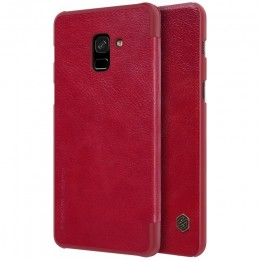 Чехол Nillkin Qin Leather Case для Samsung Galaxy A8 Plus (2018) A730 (A7 2018) Red (красный)
