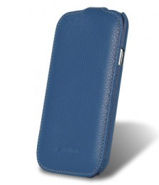 Чехол Melkco для Samsung Galaxy Mega 6.3 i9200/9205 Dark Blue