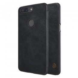 Чехол Nillkin Qin Leather Case для OnePlus 5T Black (черный)