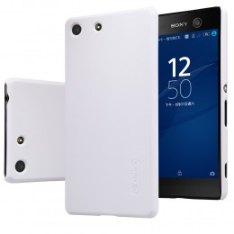 Накладка Nillkin Frosted Shield пластиковая для Sony Xperia M5/M5 Dual белая
