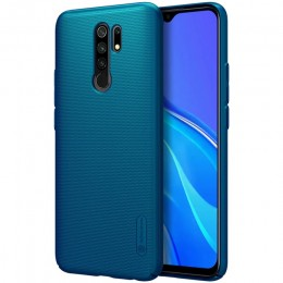 Накладка Nillkin Frosted Shield пластиковая для Xiaomi Redmi 9 Green (зеленая)