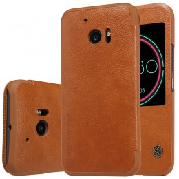 Чехол Nillkin Qin Leather Case для HTC One 10 (M10) Brown (коричневый)