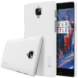 Накладка Nillkin Frosted Shield пластиковая для OnePlus 3 (A3000) White (белая)