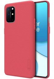 Накладка Nillkin Frosted Shield пластиковая для OnePlus 8T Red/Красная