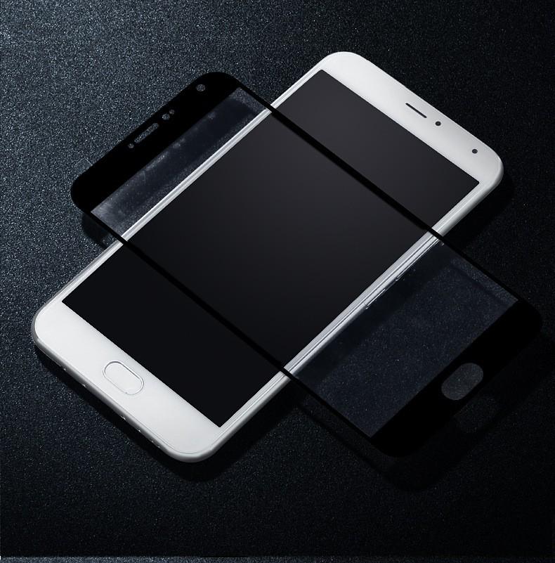 Защитное стекло для Meizu U20 полноэкранное черное