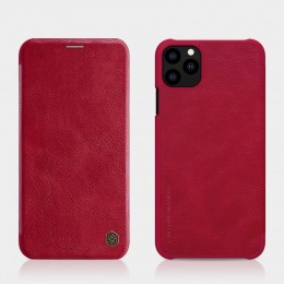 Чехол Nillkin Qin Leather Case для Apple iPhone 11 Pro Max Red (красный)