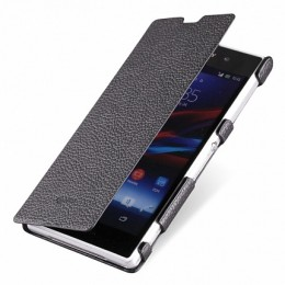 Чехол Sipo для Sony Xperia Z1 Book Type Black (черный)