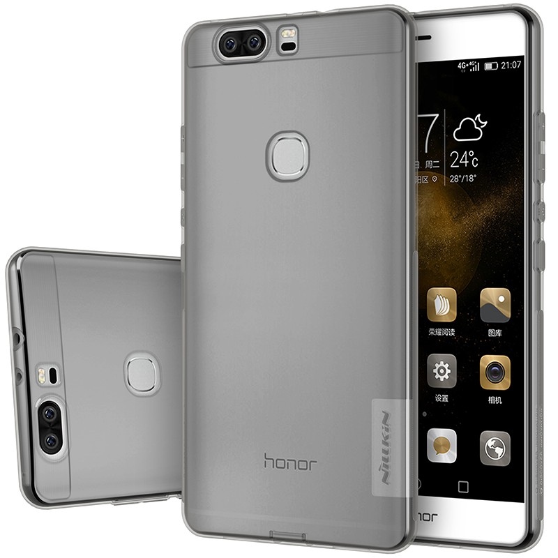 Накладка Nillkin Nature TPU Case силиконовая для Huawei Honor V8 прозрачно-черная