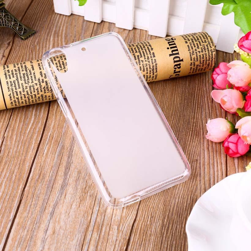 Накладка KissWill силиконовая для HTC Desire 628 прозрачно-белая