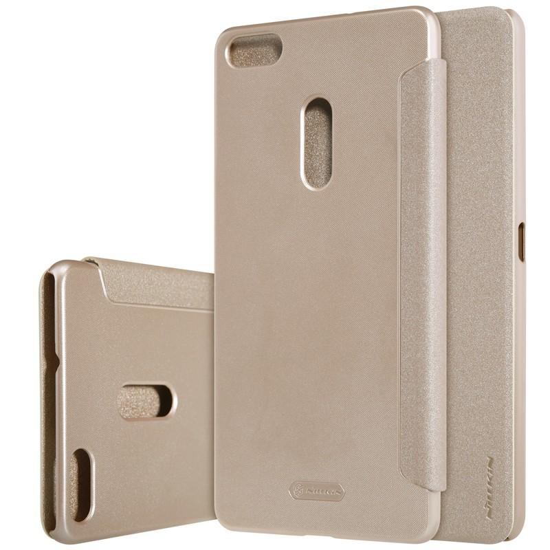 Чехол Nillkin Sparkle Series для Asus Zenfone 3 Ultra ZU680KL Gold (золотой)