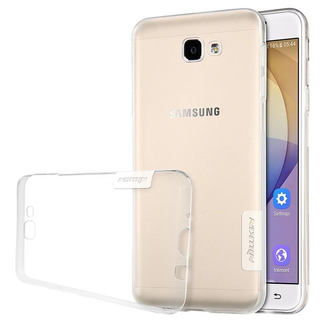 Накладка Nillkin Nature TPU Case силиконовая для Samsung Galaxy J7 Prime (G610/On7 (2016)) прозрачная