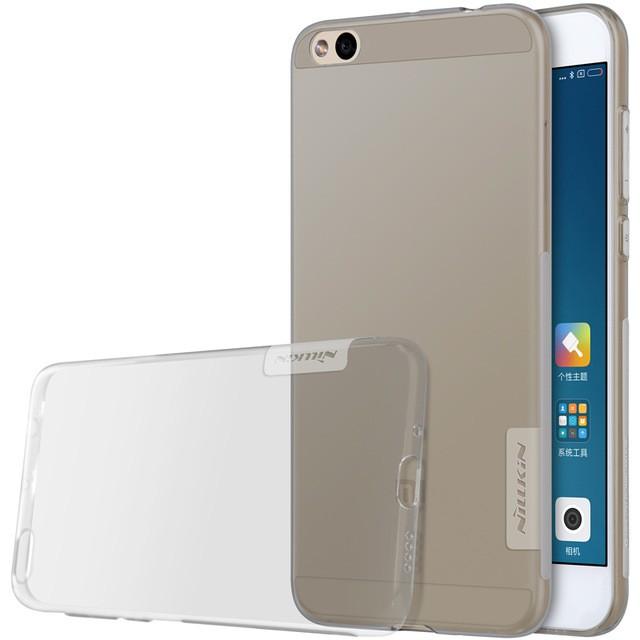 Накладка Nillkin Nature TPU Case силиконовая для Xiaomi Mi5C прозрачно-черная