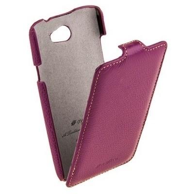 Чехол Melkco для HTC One E8 фиолетовый