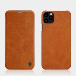 Чехол Nillkin Qin Leather Case для Apple iPhone 11 Pro Max Brown (коричневый)