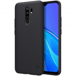 Накладка Nillkin Frosted Shield пластиковая для Xiaomi Redmi 9 Black (черная)