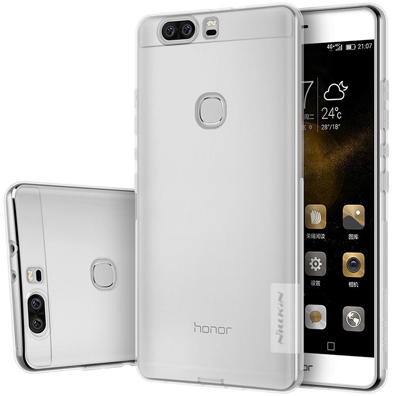 Накладка Nillkin Nature TPU Case силиконовая для Huawei Honor V8 прозрачная