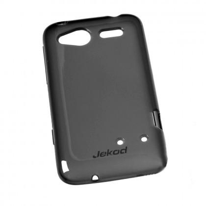Силиконовая накладка Jekod для HTC One V черная