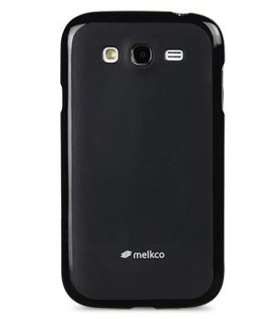 Накладка Melkco Poly Jacket силиконовая для Samsung Galaxy Grand Neo i9060 Black Mat (черная)