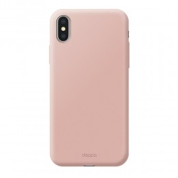 Накладка Deppa Air Case для iPhone X розовая