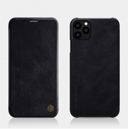 Чехол Nillkin Qin Leather Case для Apple iPhone 11 Pro Max Black (черный)