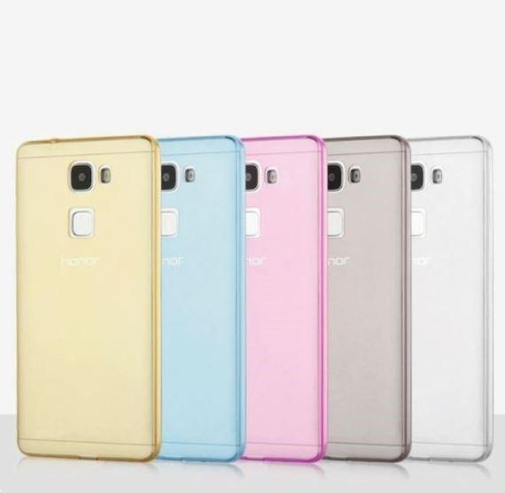 Накладка силиконовая для Huawei Honor 7 прозрачно-белая