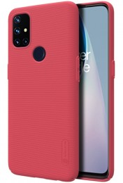 Накладка Nillkin Frosted Shield пластиковая для OnePlus Nord N10 Red/Красная