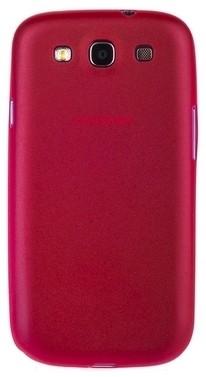 Накладка супертонкая для Samsung Galaxy S3 i9300 красная