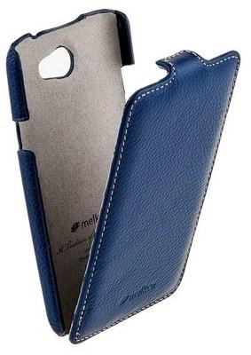 Чехол Melkco для Sony Xperia Z Dark Blue