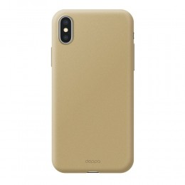 Накладка Deppa Air Case для iPhone X золотая