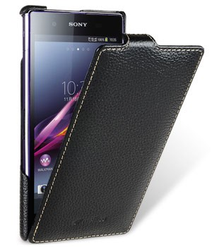 Чехол Melkco для Sony Xperia Z1 Black