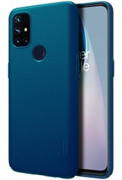 Накладка Nillkin Frosted Shield пластиковая для OnePlus Nord N10 Blue/Синяя