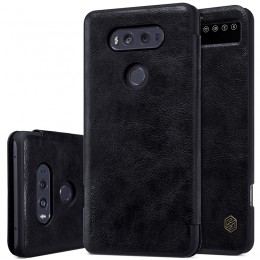 Чехол Nillkin Qin Leather Case для LG V20 F800 Black (черный)
