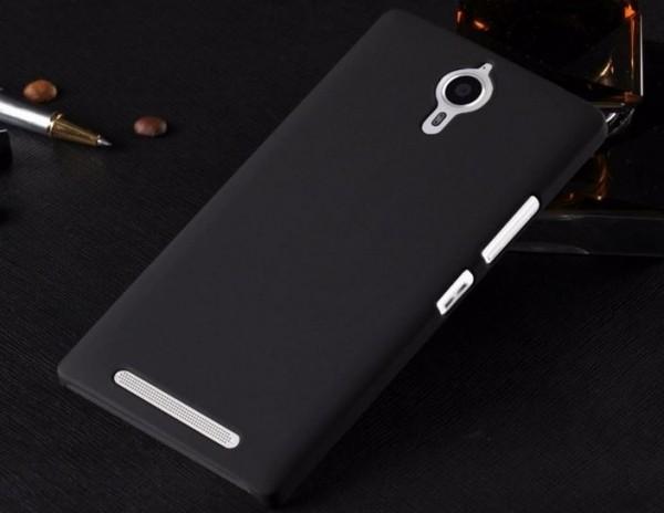Накладка Skinbox 4People пластиковая для Lenovo P90 (K80) черная