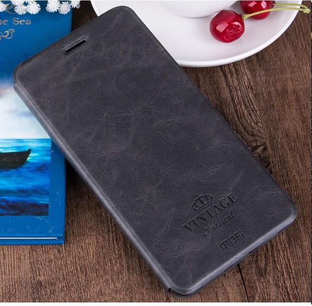 Чехол Mofi Vintage Classical для Huawei Honor V9 Grey (серый)