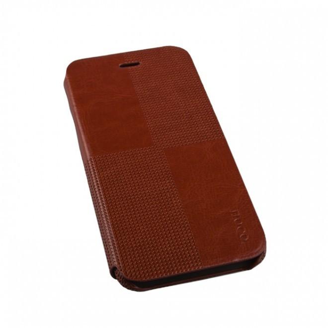 Чехол-книжка HOCO Crystal Fashion Folder для iPhone 6/6S Brown (коричневый)