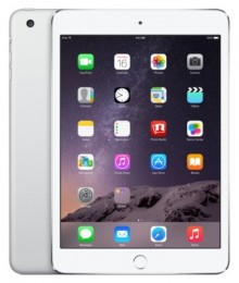 Планшет Apple iPad mini 3 128Gb Wi-Fi + Cellular Silver