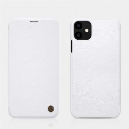 Чехол Nillkin Qin Leather Case для Apple iPhone 11 White (белый)