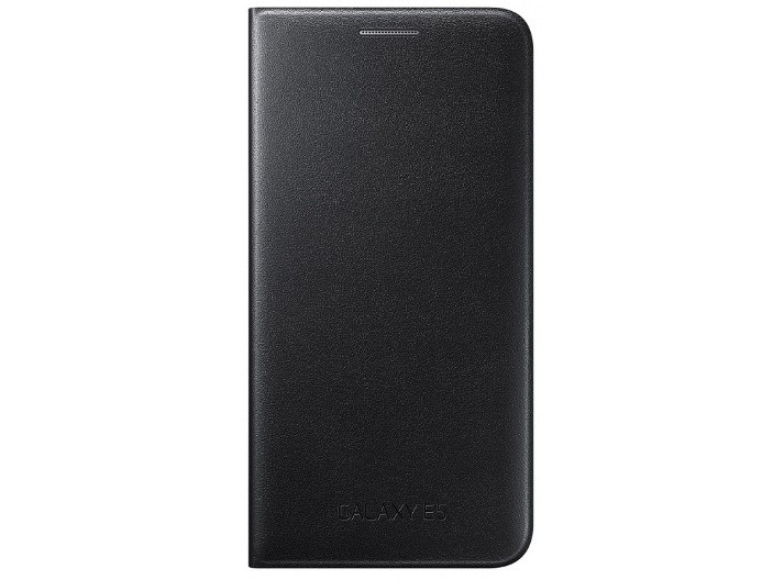 Чехол Flip Wallet для Samsung Galaxy E5 E500 EF-WE500BBEGRU черный