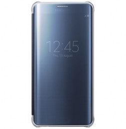 Чехол Clear View Cover для Samsung Galaxy S6 Edge+ G928 EF-ZG928CBEGRU черный