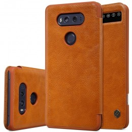 Чехол Nillkin Qin Leather Case для LG V20 F800 Brown (коричневый)