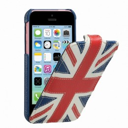 Чехол Melkco для iPhone 5C Nations Britain (флаг Великобритании)