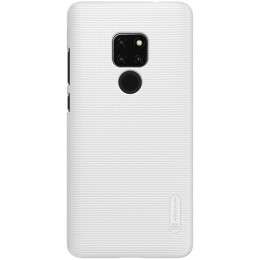 Накладка Nillkin Frosted Shield пластиковая для Huawei Mate 20 White (белая)