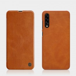 Чехол Nillkin Qin Leather Case для Samsung Galaxy A70s (2019) SM-A707 Brown (коричневый)