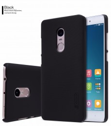 Накладка Nillkin Frosted Shield пластиковая для Xiaomi Redmi Note 4 Black (черная)