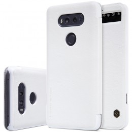 Чехол Nillkin Qin Leather Case для LG V20 F800 White (белый)