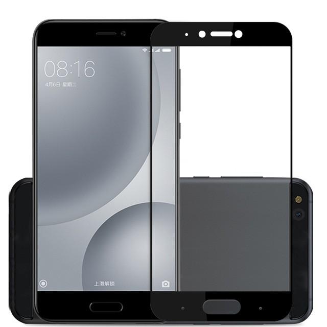 Защитное стекло для Xiaomi Mi5C полноэкранное черное