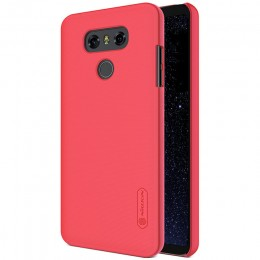 Накладка Nillkin Frosted Shield пластиковая для LG G6 (H870) Red (красная)