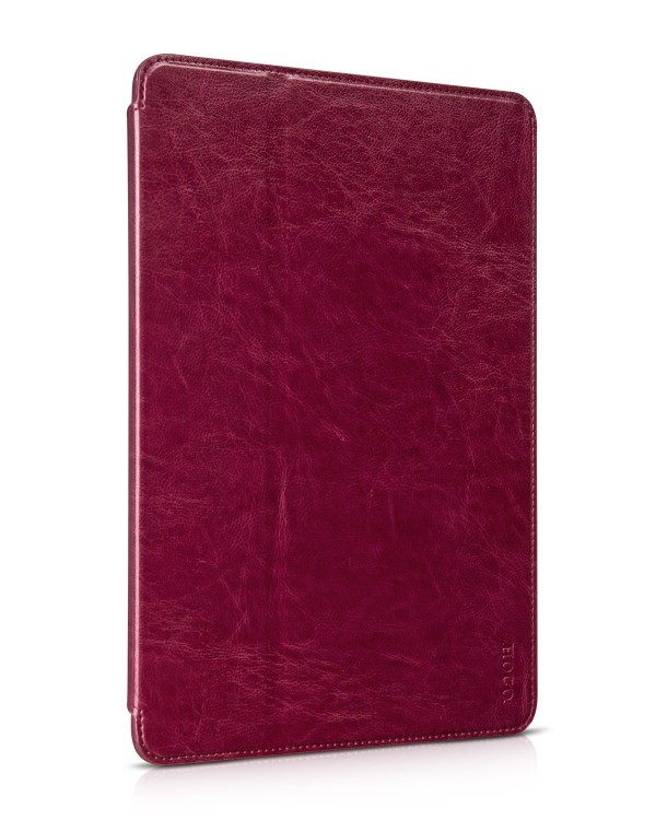 Чехол HOCO Crystal leather case для iPad Air 2 Wind Red (бордовый)
