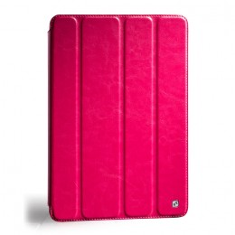 Чехол HOCO Crystal leather case для iPad 4/3/2 Rose (малиновый)