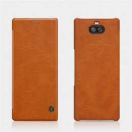 Чехол Nillkin Qin Leather Case для Sony Xperia 10 (XA3) Brown (коричневый)